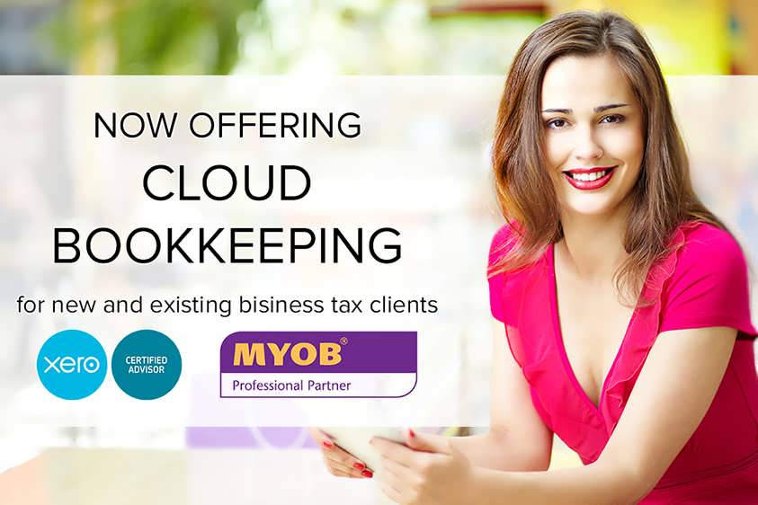 We are now offering Cloud Bookkeeping. Available to new and existing tax clients on Xero or MYOB  Cloud products.
