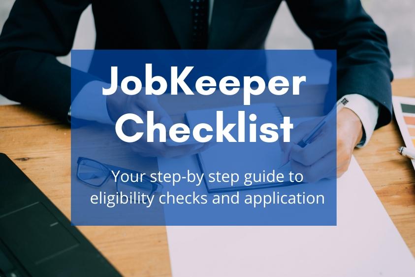 JobKeeper Checklist