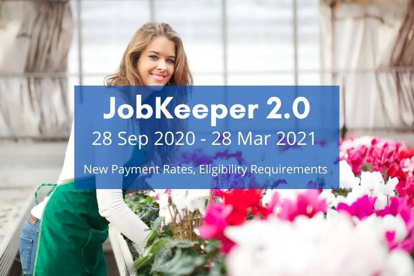 JobKeeper 2.0 Extended JobKeeper Payments